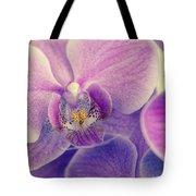 Orchid Lilac Dark Tote Bag