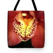 Orchid Macro Tote Bag