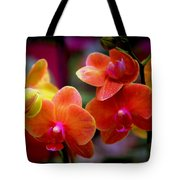 Orchid Melody Tote Bag
