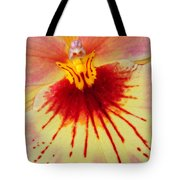 Orchid Of Color Tote Bag
