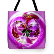Orchid Orb I Tote Bag