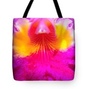 Orchid Ruffles Tote Bag