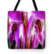 Orchid Splat Tote Bag