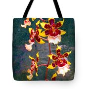 Orchid Spray By Pottery  Tote Bag