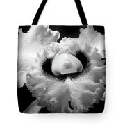 Orchid With Black Wings Tote Bag