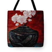 Orchids And Passion Tote Bag