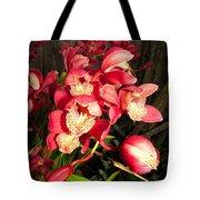 Orchids Galore Tote Bag