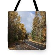 Oregon Autumn Highway Tote Bag