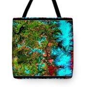 Oregon Cascades Nasa Satellite Tote Bag