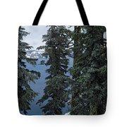 Oregon Crater Lake Panoramic Tote Bag