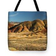 Oregon Painted Landscape Tote Bag