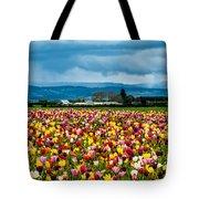 Oregon Tulip Farm - Willamette Valley Tote Bag