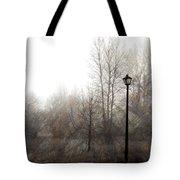 Oregon Winter Tote Bag by Carol Leigh