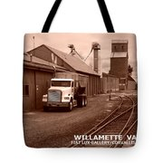 Oregon's Willamette Valley  Tote Bag