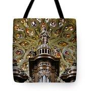 Organ And Window Tote Bag