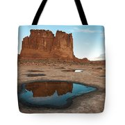 Organ Formation, Arches National Park Tote Bag