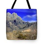 Organ Mountain Frosty Top Tote Bag