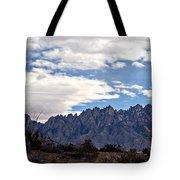 Organ Mountain Landscape Tote Bag