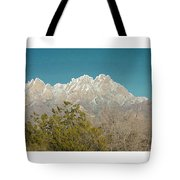 Organ Mountain Wilderness Tote Bag