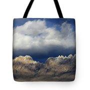 Organ Mountains New Mexico Tote Bag