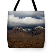 Organ Mountains New Mexico Tote Bag