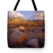 Organ Mountains Sunset Tote Bag