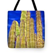 Organ Pipe Cactus Arizona By Diana Sainz Tote Bag
