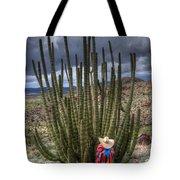 Organ Pipe Cactus The Visitor 1 Tote Bag