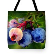 Organic Blues Tote Bag