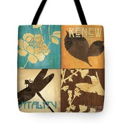 Organic Nature 4 Tote Bag by Debbie DeWitt