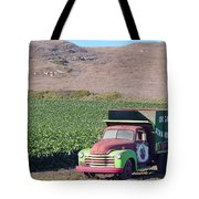 Organic Strawberries Tote Bag