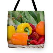Organic Sweet Bell Peppers Tote Bag