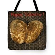 Organic Valentine Tote Bag