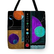 Organized Planets Tote Bag