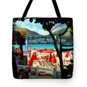 Orient Beach Peek Tote Bag