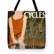 Orient Cycles Vintage Bicycle Poster Tote Bag