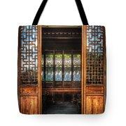 Orient - Door - The Temple Doors Tote Bag