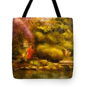Orient - The Japanese Garden Tote Bag