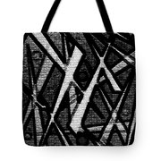 Oriental Abstract Tote Bag