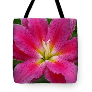 Oriental Lily Tote Bag