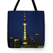 Oriental Pearl Tower, Shanghai Tote Bag