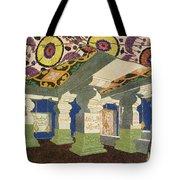 Oriental Scenery Design Tote Bag
