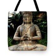 Oriental Statue Tote Bag