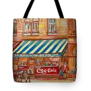 Original Bank Notre Dame Street Tote Bag