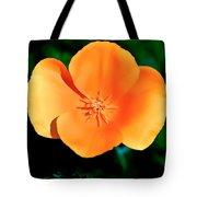 Original Digital Painting Of The California Poppy Tote Bag