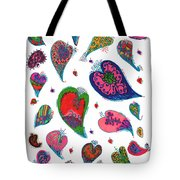 Original Hearts Tote Bag