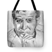 The One And Not Now Only James T Kirk Tote Bag by Madeline Moore