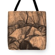 Original Looking Up Tote Bag