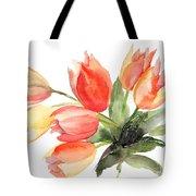 Original Tulips Flowers Tote Bag