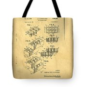 Original Us Patent For Lego Tote Bag